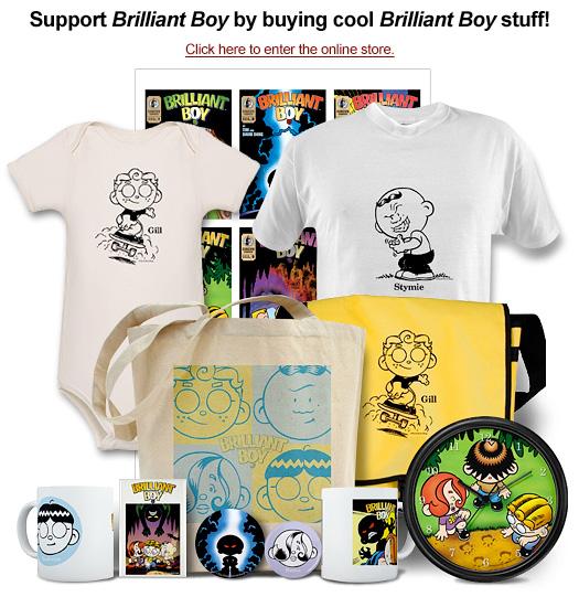 Brilliant Boy merchandise